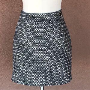 Ann Taylor Loft skirt tweed look
